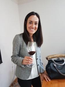 Claudia Juárez, sommelier